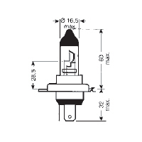 472 H4 bulb specification