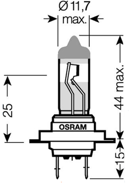 Osram H7 Night Breaker 