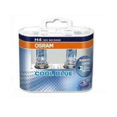 Osram Cool Blue H4 Upgrade Headlight Bulbs 12v 60w 55w