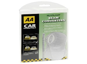 AA Headlamp converters for driving in Europe