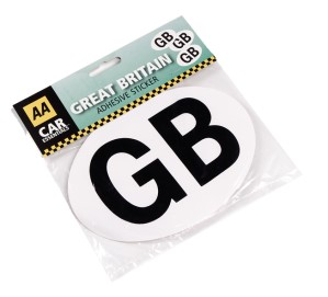 AA GB Self Adhesive sticker