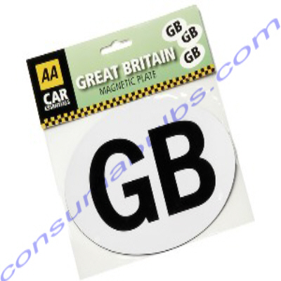 AA GB Self Adhesive Car Sticker for European travel **CURRENTLY UNAVAILABLE**