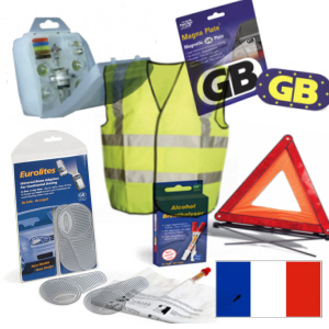 driving in france travel kit