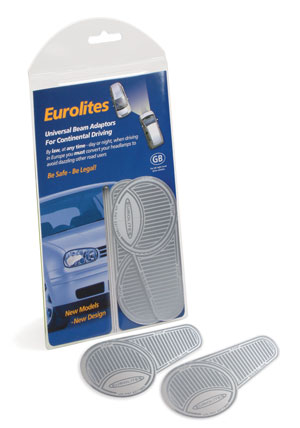 Eurolite Left Beam Converters for Driving in the UK