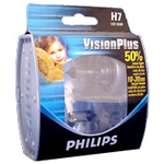 Philips Vision Plus Car Bulbs