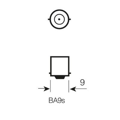 433b osram base dimensions